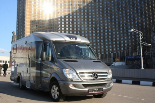 photo Mercedes-Benz Sprinter Adria Polaris SL