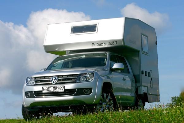 Volkswagen Amarok + Bimobil Husky 220 = автодом 4х4