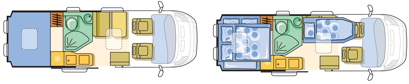 Adria twin 640 shx на новом шасси 2018 г цена
