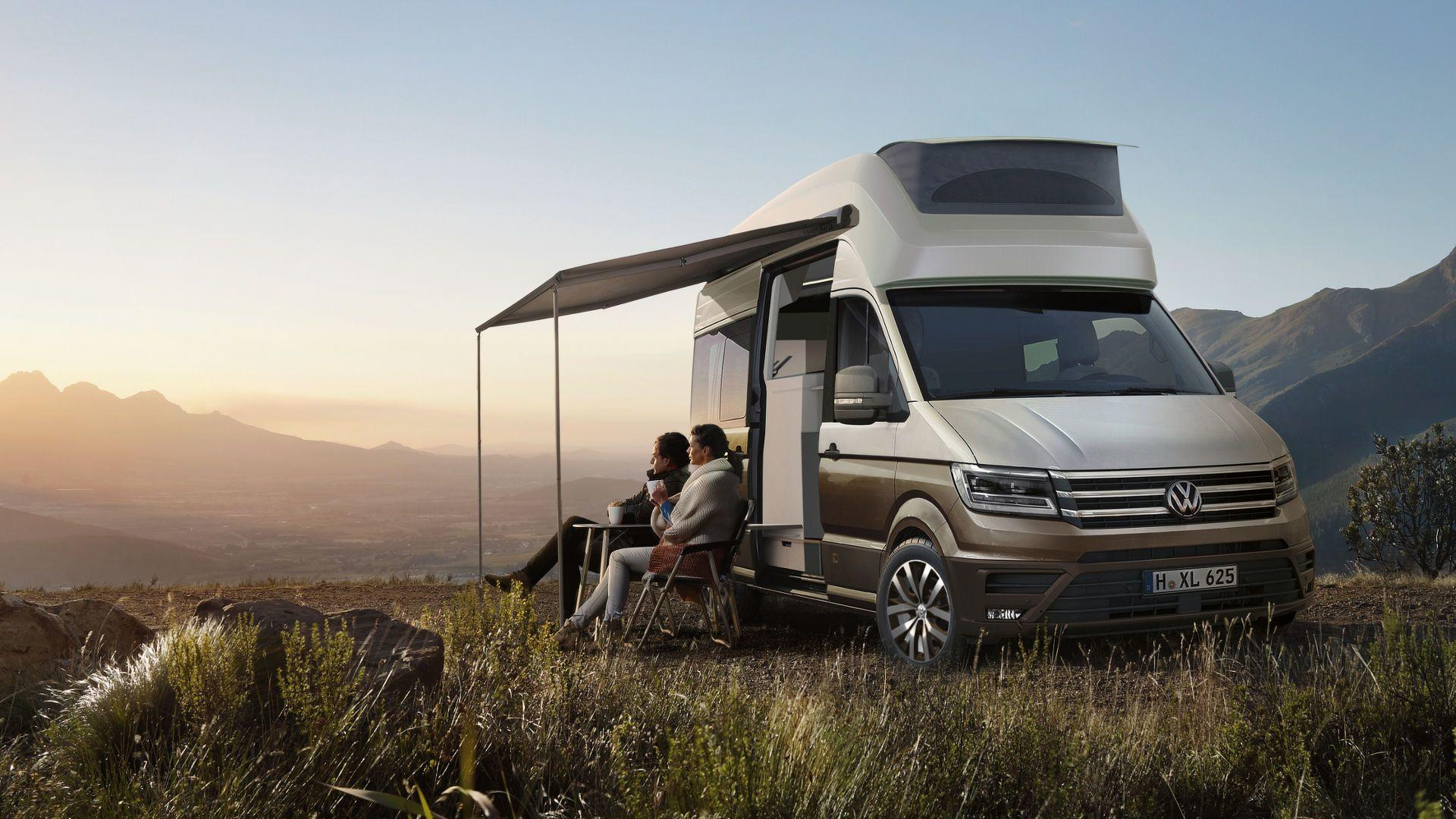 Volkswagen Commercial Vehicles представляет California XXL