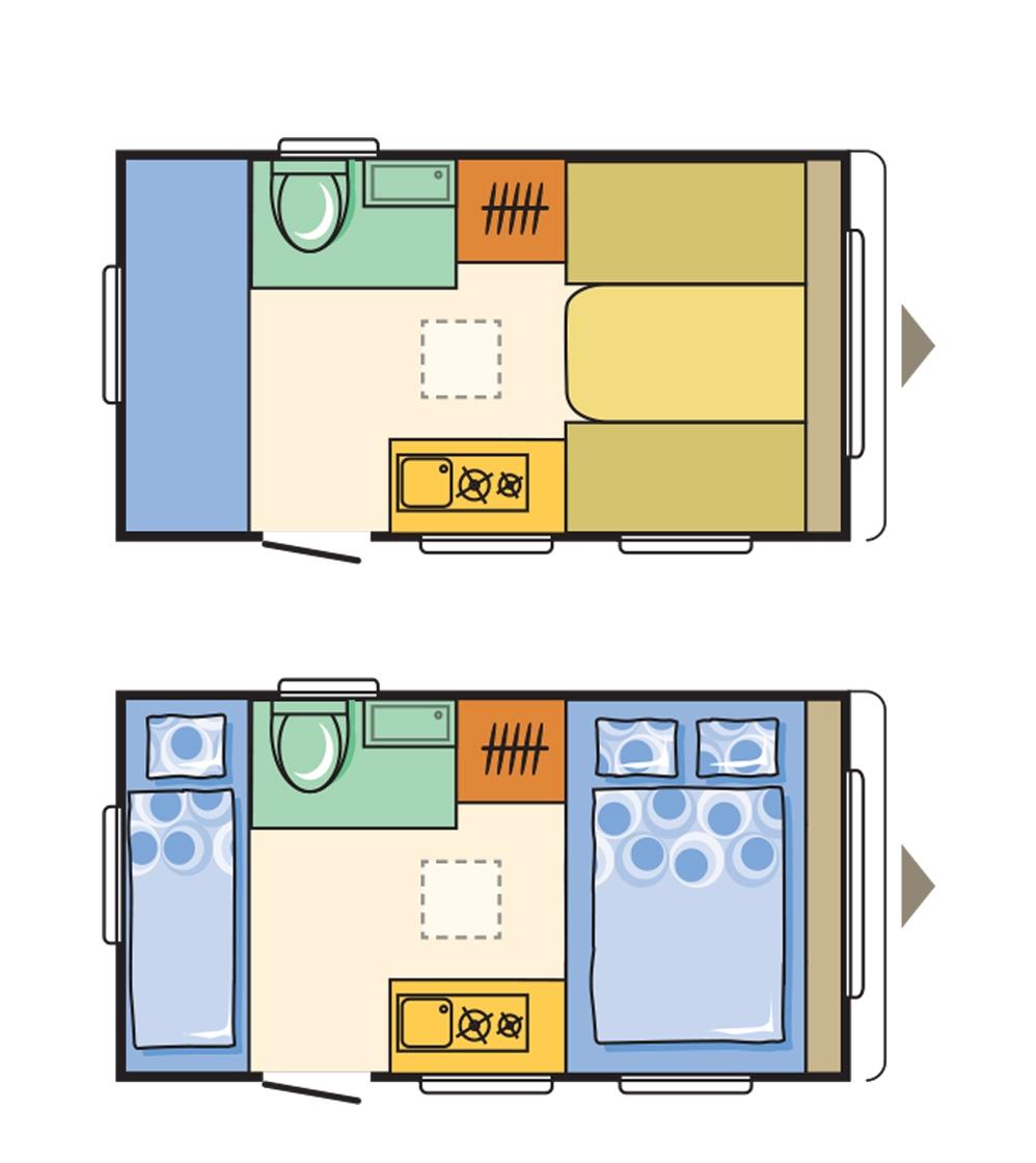 Adria Aviva 360 DK floorplan
